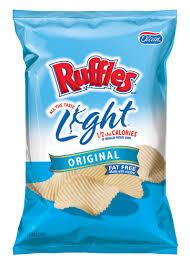 light potato chips