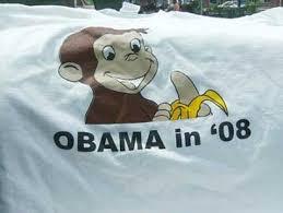 obama monkey t shirt