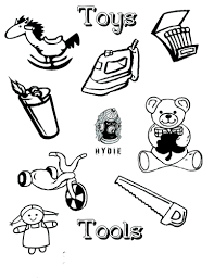 coloring pages of toys