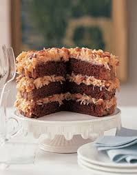 german chocolate cake photo