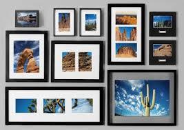 arranging picture frames