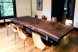 slab dining room table solid slab dining table like this item solid wood slab dining room
