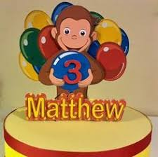 curious george cake topper curious george birthday cake topper we had this for my s third