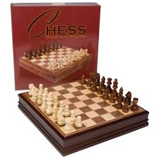 amazon com catherine chess inlaid wood board game with wooden