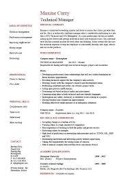 Resume Technical Skills Examples Skill Example For Resume Resume Skills Section Example Resume