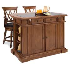 kitchen incredible wood veneered kitchen island with stools oven