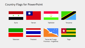 Taiwan Country Flag Country Flags Clipart For Powerpoint S To Z Slidemodel