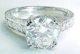 vintage diamond rings for sale round antique diamond engagement