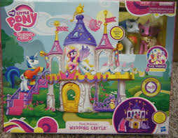 mlp wedding castle free new my pony wedding castle playset with princess