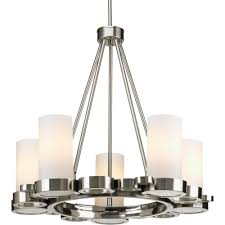 Brushed Nickel Chandeliers Best Lighting Images On Nickel Finish Bathroom Part 22 Brushed