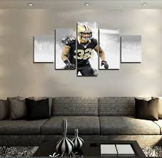 online shop atfipan wall art poster new orleans saints player 32