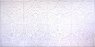 Decorative Ceiling Tile by Ceiling Tiles By Us Aa309 White Matte 24 U2033x48 U2033 Box Of 10 Tiles