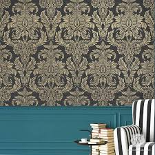 large damask wall stencils french u0026 vintage wallpaper royal