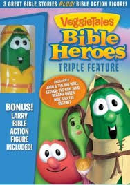 veggietales bible heroes feature dvd christian