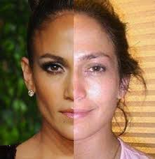 jennifer lopez 29 celebrities with and without makeup the hollywood gossip