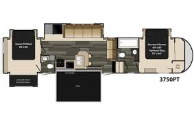 coachmen rv chaparral 371mbrb cedar382 bedroom 5th wheel luxury