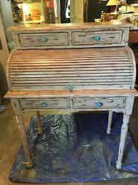 roll top desk refurbished and ready to sell not real big just