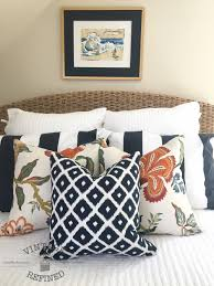 vintage refined nautical bedroom makeover reveal
