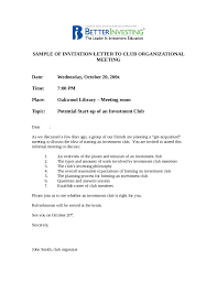 Official Business Letter Template by Invitation Letter Sample Letter Of Invitation Template