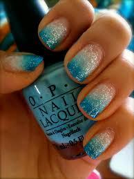 blue gradation nail art ignore cuticles u2026 my style pinterest