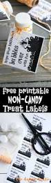Printable Labels Free Printable Non Candy Halloween Treat Labels For Bubbles The