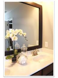 framed bathroom mirrors fair design bathroom framed mirrors