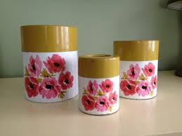 retro kitchen canisters the 25 best vintage canisters ideas on vintage