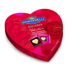 valentines day chocolate ghirardelli valentines day heart gift milk chocolate