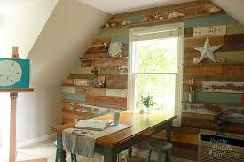 weathered wood wall how to make new wood look weathered and rustic pretty handy