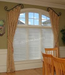 Stationary Curtain Rod Custom Curtains By Window Accents Loveland Oh