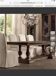 restoration hardware dining room st james dining table in antique coffee from rh like this look