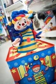 jack in the box clown centerpiece decoration 75 00 pinatas