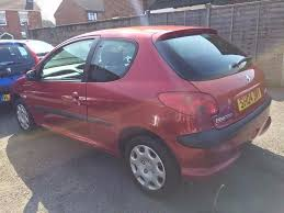 2004 peugeot 206 s 1 1 petrol manual 3 door 77 000 miles with