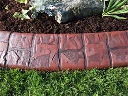 curb appeal lawn care u0026 landscaping decorative concrete curbing