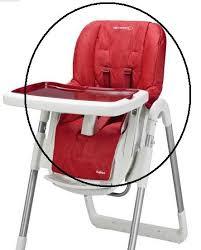 housse chaise haute bebe housse de chaise haute oméga bébé confort les bébés du bonheur