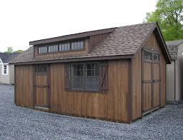 12x20 cape cod with dormer greencastle pa pine creek structures