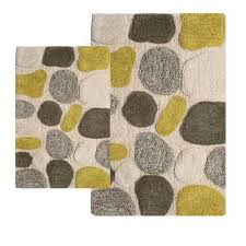 Cheap Rug Sets Cheap Bath Rugs Sets Pebbles 2 Piece Bathroom Rug Set