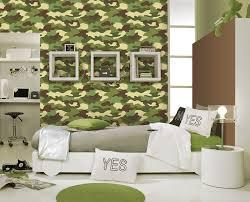 Camo Wallpaper For Bedroom | amazing camouflage bedroom interior decoration for boys bedroom