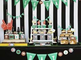 football party decorations diy football party decorations diy project