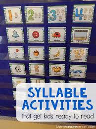 5 fun syllable activities with free printables the measured mom