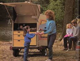 build a camp kitchen and camp storage trailer nature and