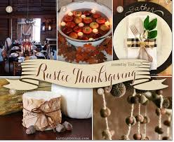 decorating ideas for a rustic thanksgiving with family