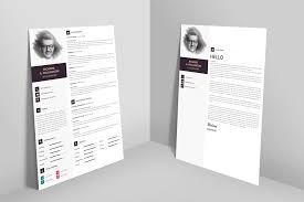 Original Resume Design Creative Professional Resume Cv Design Template With Cover