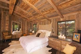 chambre à coucher rustique chambre à coucher rustique luxueuse de cabine de logarithme naturel