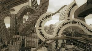 these surrealist landscapes imagine architecture with no limits