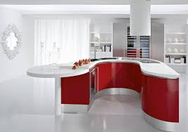 red kitchen cabinets pictures lavish home design