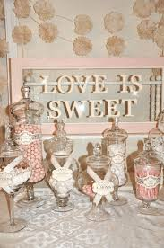 Pink And White Candy Buffet by White Candy Buffet Buffet Ideas Buffet And Bar