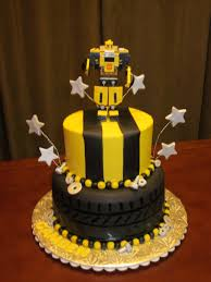 transformers cakes bumblebee transformer my t 4th birthday cake 8 and 6