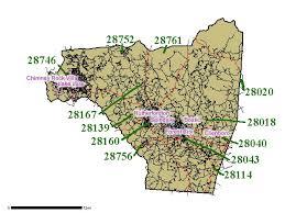 rock zip code map rutherford county zip code map