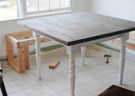kitchen barnwood table and benches diy woodworking a shovel